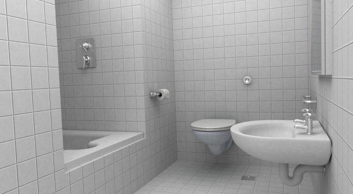 flat 1b shower