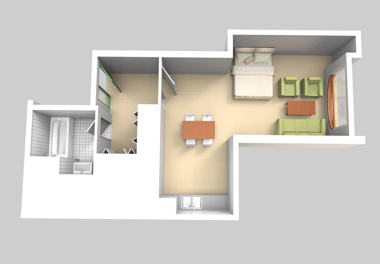 Flats_Garden_level_Type_14