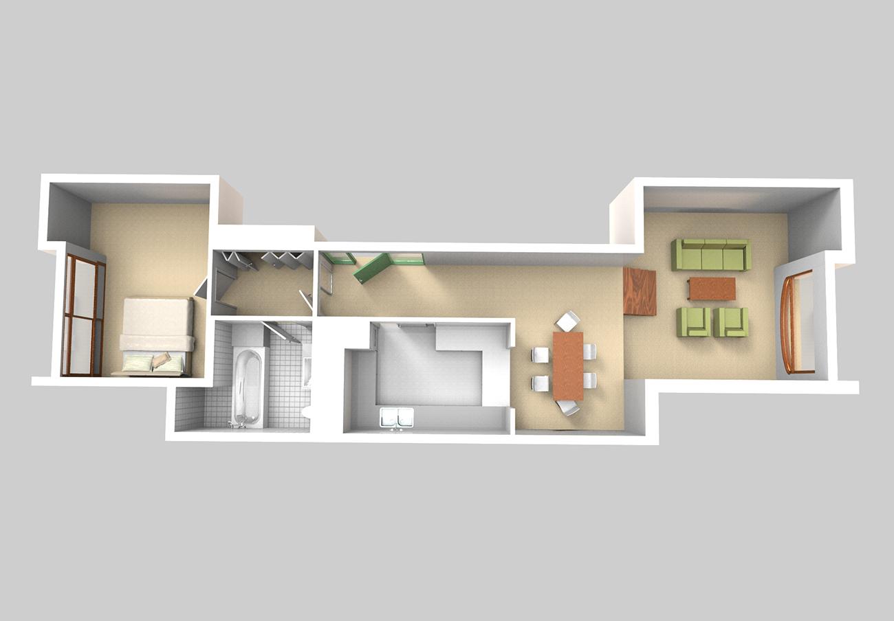 Flats_Garden_level_Type_76