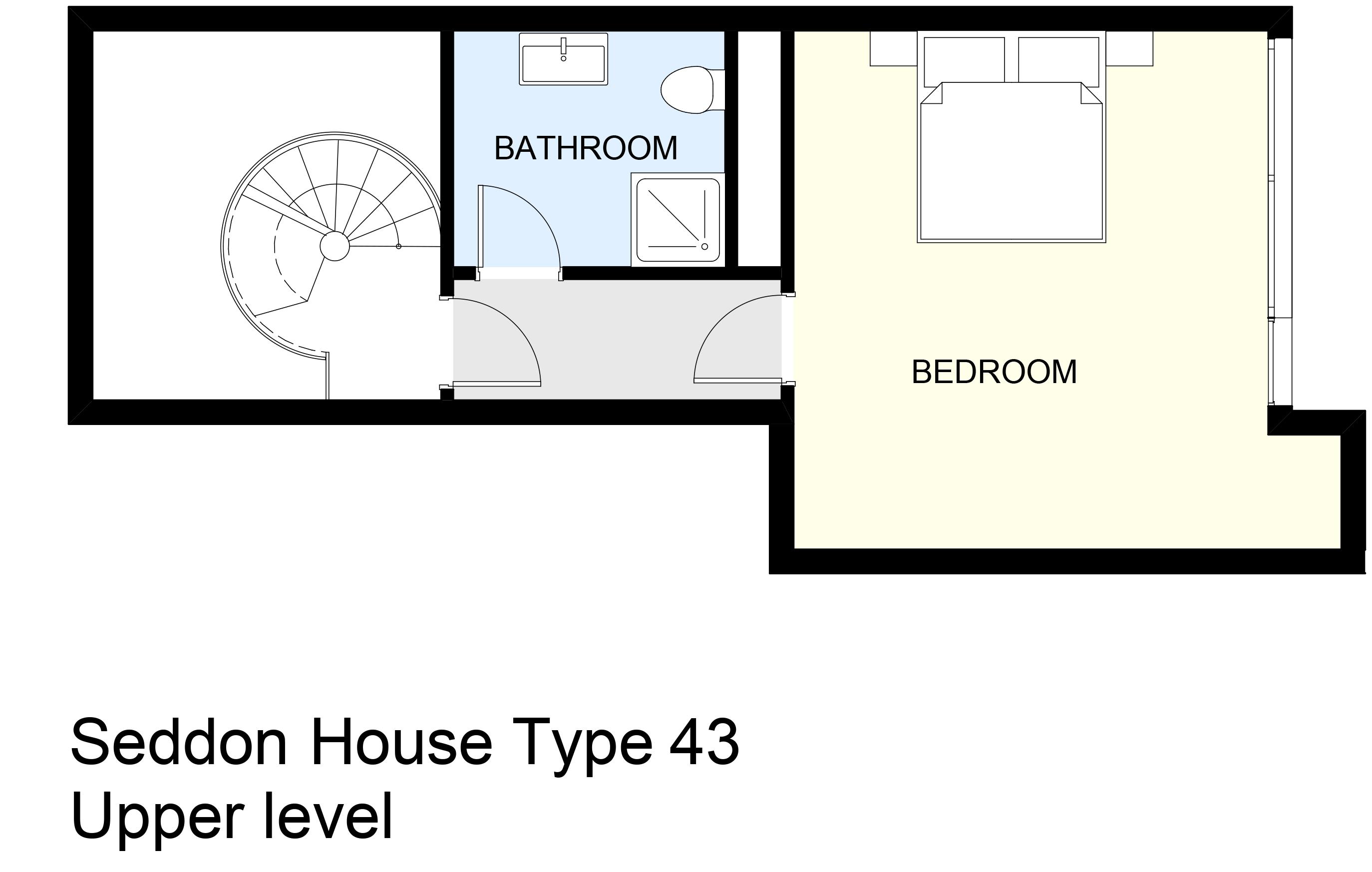 Seddon House Type 43 Upper level