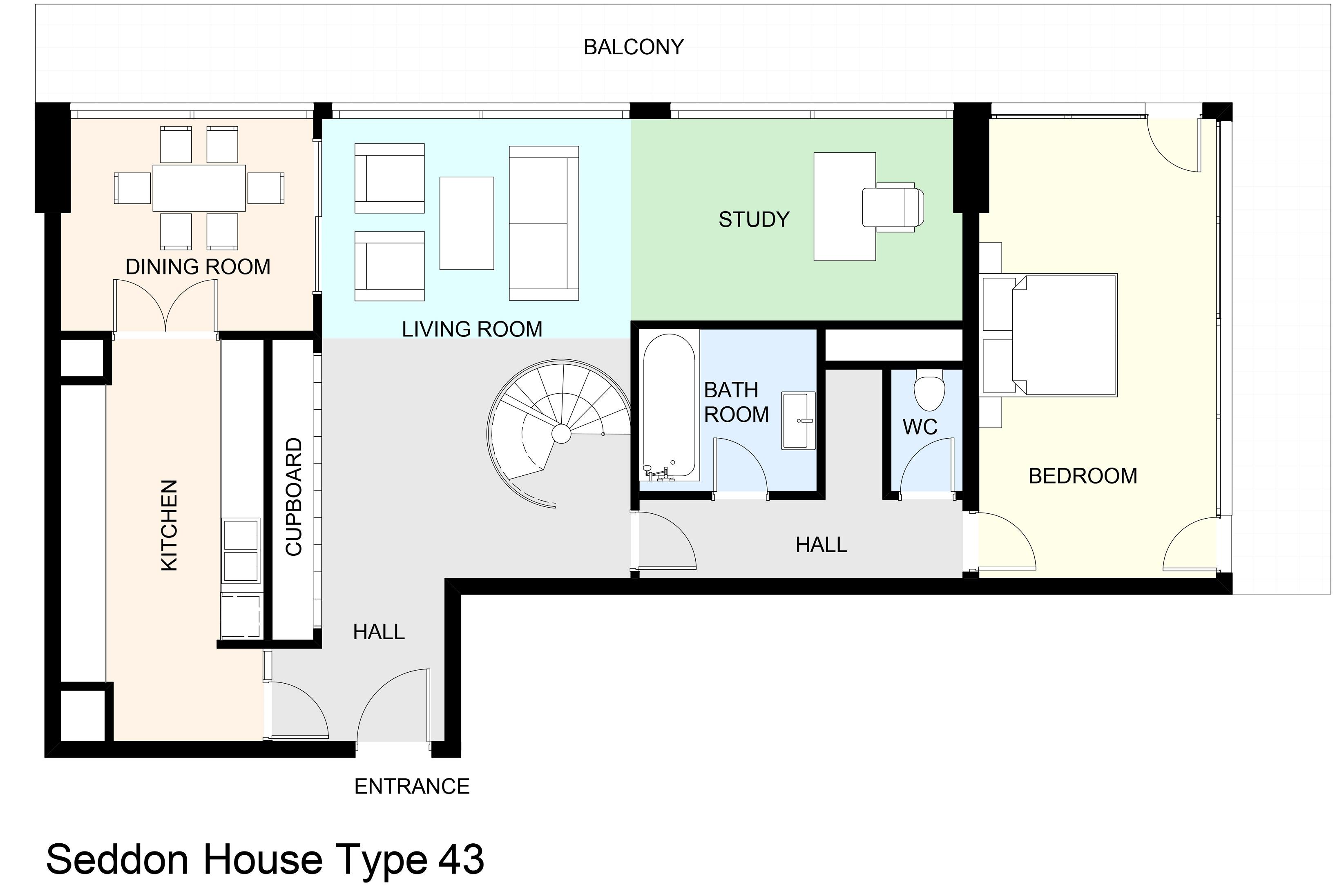 Seddon House Type 43