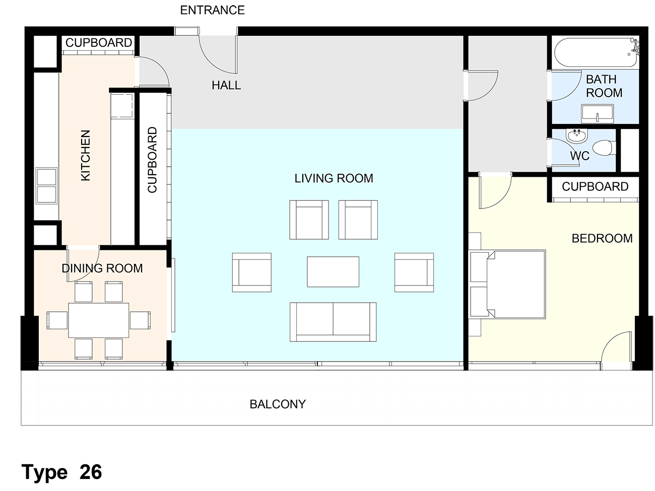 Mountjoy House Flat Plans Barbican Living