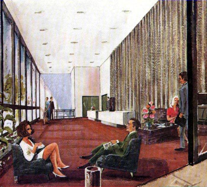 flat design barbican living