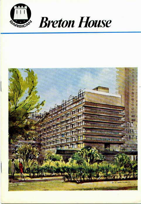 Front page of the City's original letting brochure